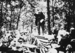 Theodore Roosevelt Giving his New Nationalism Speech, 1910, Ossawatomie, Kansas, Courtesy of the Theodore Roosevelt Collection, Harvard College Library